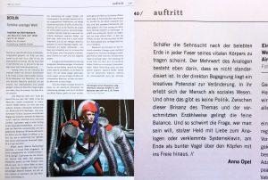 Evy Schubert _ Die Maschine steht still _ Theater der Zeit _ Anna Opel _ Theater an der Parkaue