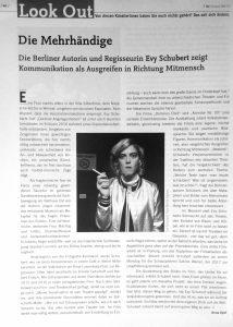 Evy Schubert Theater der Zeit